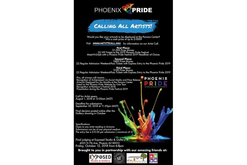 Phoenix Pride Artists Call